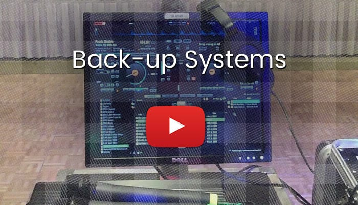 DJ Back Up Systems