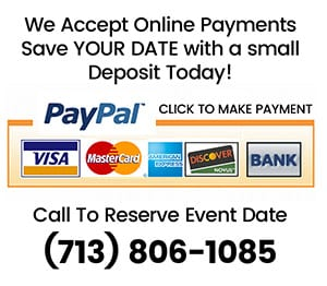 Reserve Your Date With A Small Down Payment Online!